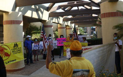 ICUC holds actions in Coachella Valley and San Bernardino to call on Congress to deliver on immigration reform